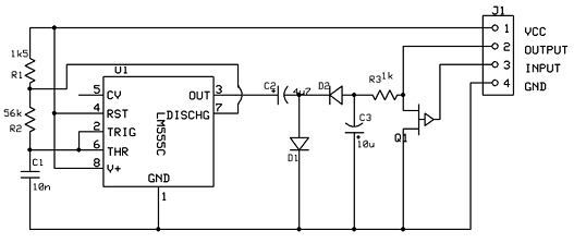 a voltage inverter circuit