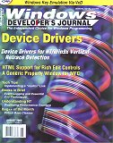 Cover of Windows Developers' Journal August 2000