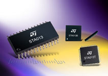 Photo of the STA013 integrated circuits series