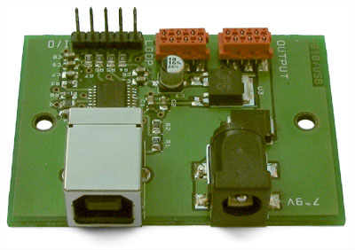 Photo of the USB Twinkler interface