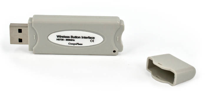 Wireless Button Interface Dongle<br/>For up to 6 wireless buttons.